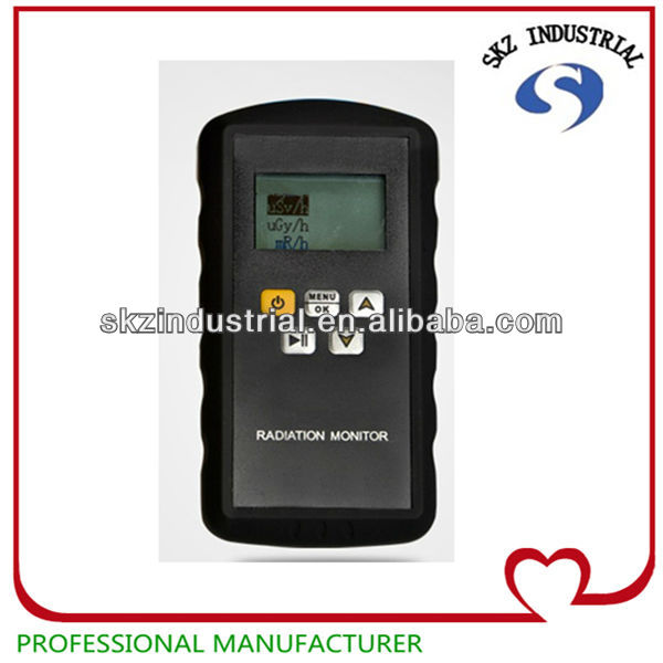 portable digital electromagnetic radiation detector/tester