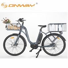 New Design 28inch Bafang Max System 36V 250W Middle Motor 13AH Lituium Battery Electric Cargo Bike
