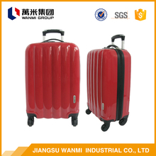 From china PC box 20 inch trolley luggage set travel suitcase