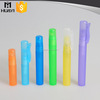 5ml/8ml/10ml colorful PP frosted pen type perfume bottle with sprayer
