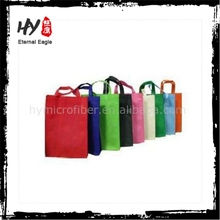 Professional customized various laminated non woven bag, bright color pp non woven shopping bag, cheap printed shopping bags