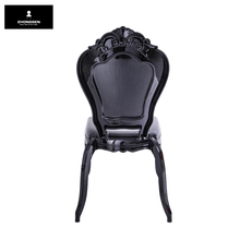 Belle EpoqueClear Resin Princess Chair Dining Plastic Bella Chair