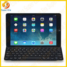 bluetooth keyboard With intelligent magnetic clip lofty aluminum bluetooth keyboard for ipad air 5------SUPER ERA