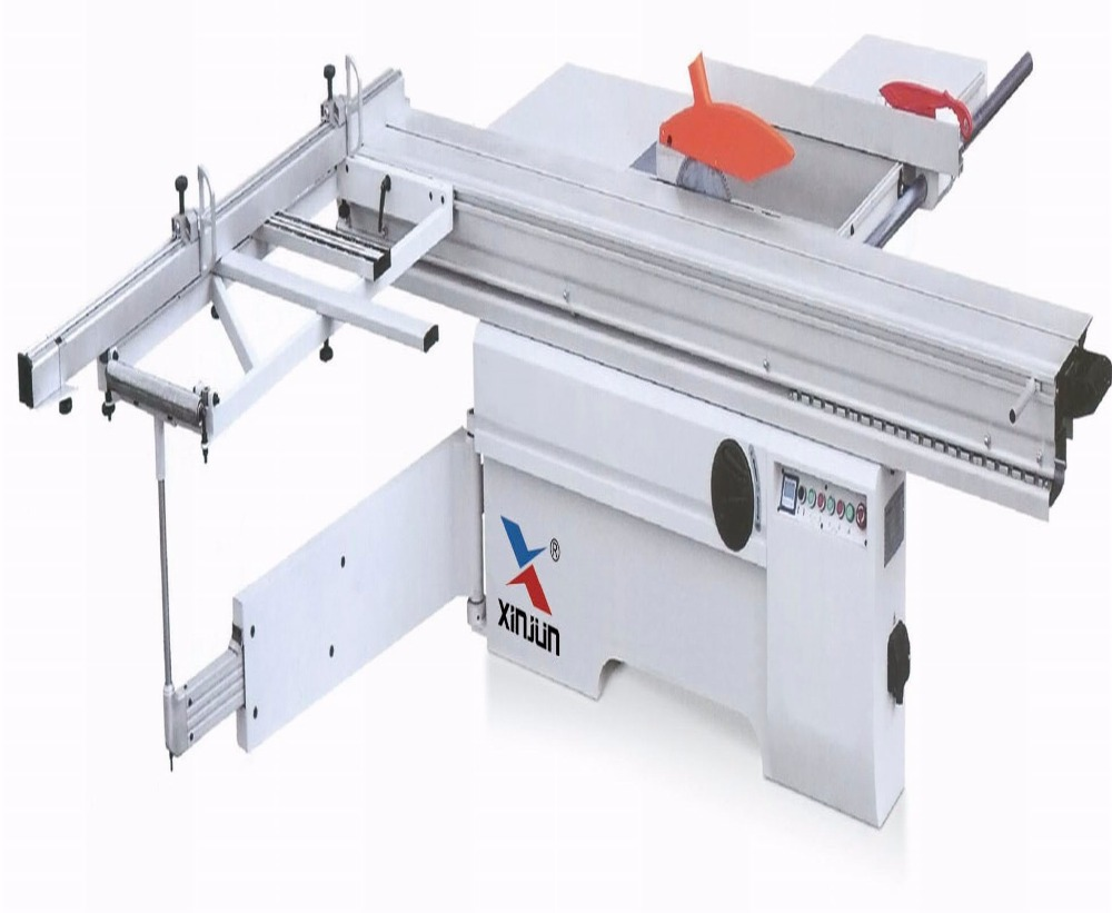 Woodworking Sliding Table Saw/panel furniture sawing machine with manual tilting saw blade