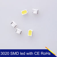 Super Bright 3528 White SMD led with epistar chip/3528 0.5w 55lm 2835 led desk light