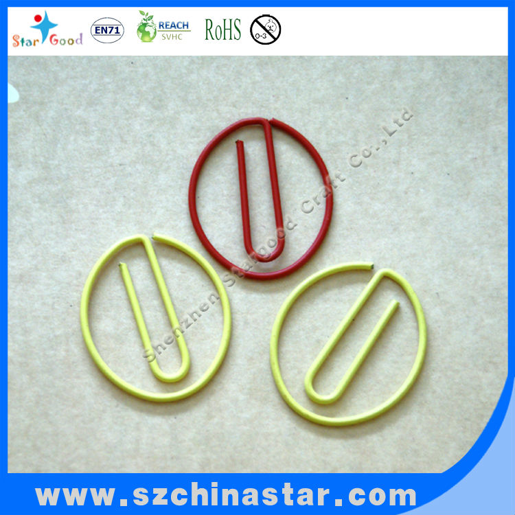 Beautiful design circular paper clips