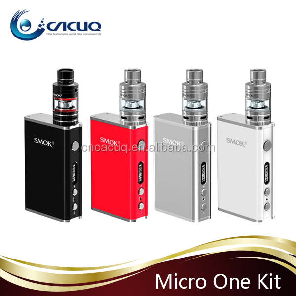 USA hot100% Authentic SMOK New Design E Cig Starter Kit SMOK Micro One starter kit with R80 and Micro TFV4 Smok Micro one