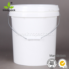 20L cheap high-capacity plastic storage container with lid and handle