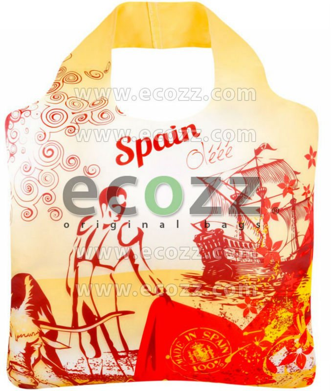 Reusable shopping bag ECOZZ World Traveler Spain
