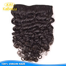 Brazilian curly clip in hair extensions for short hair, no shed clip in hair extention,cheap clip extention hair