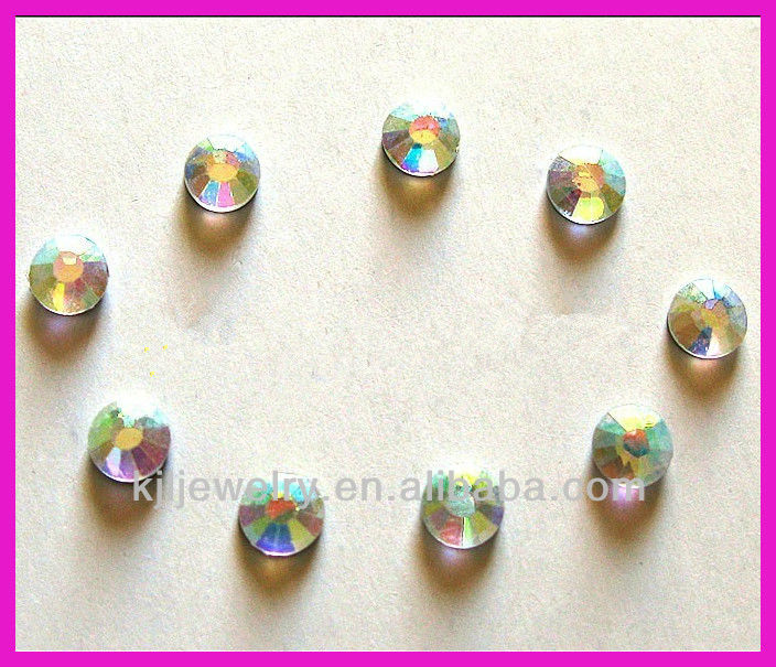 10Gross/Bag Korean iron Stone Hotfix Crystal Rhinestones Clear AB SS20, 4.6~4.8mm SS20 Crystal AB