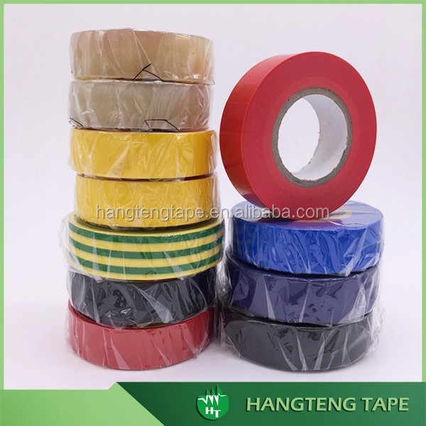 China factory produce Multiple colors 0.13mm thick pvc insulation tape