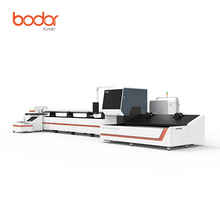 Bodor high performance 500w fiber laser cutting machine cutting metal tube pipe furniture bed frame table legs