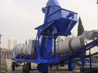 DHB40 easy batch mobile asphalt plant, mini mobile asphalt plant, mobile asphalt plant for sale