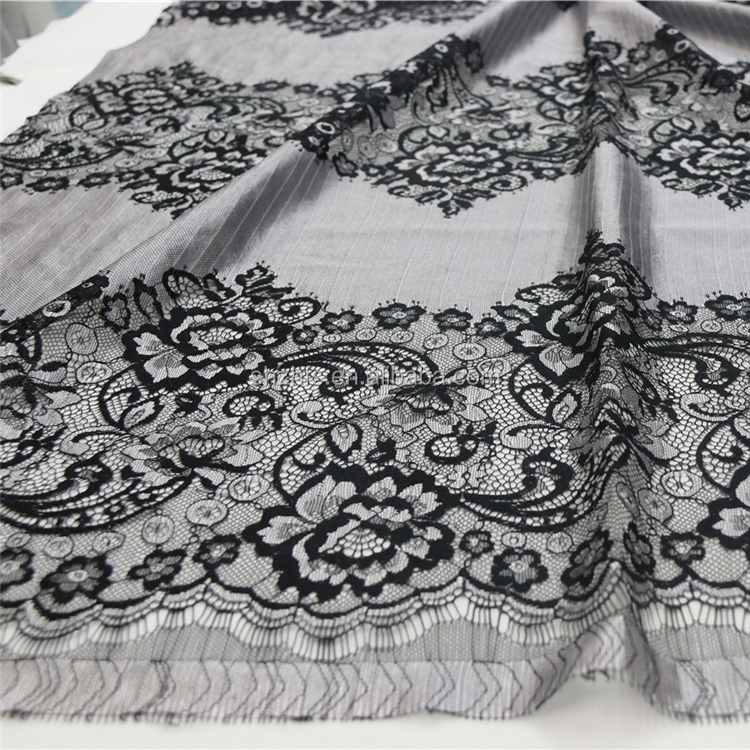 French high-end eyelash lace fabric
