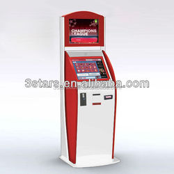 android player coin acceptor payment kiosk cash dispensing machine