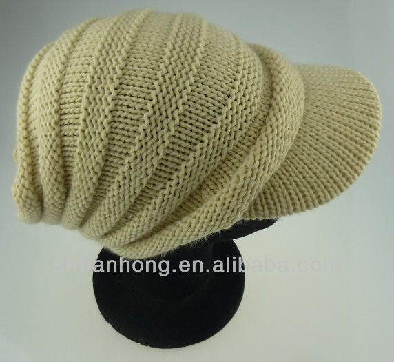 knitted fashion ear flap winter hat