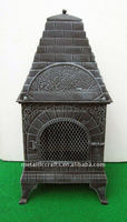 The Little House Grill Cast Iron Chiminea