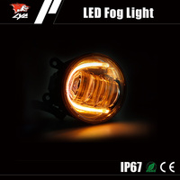 New product 30W Aluminum Alloy led drl fog light for peugeot 407 coupe
