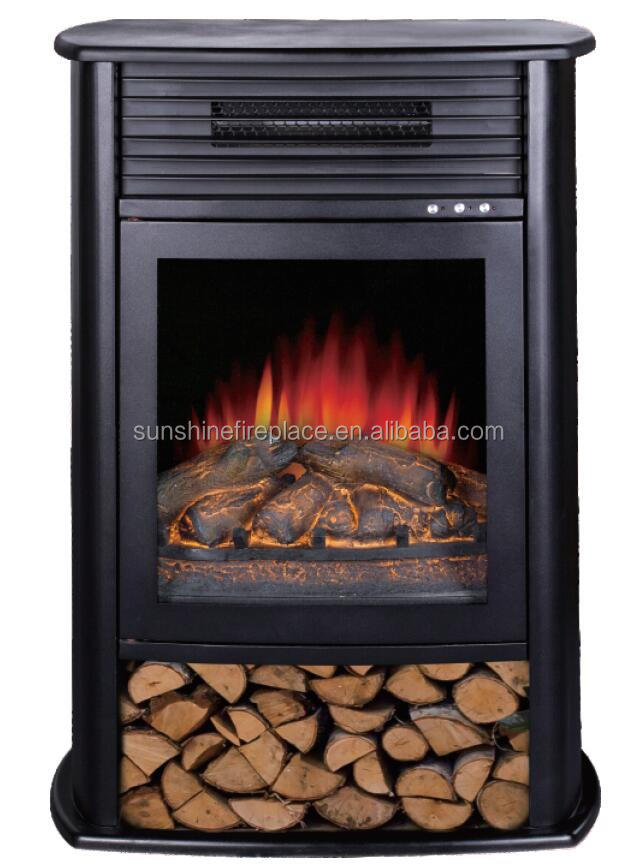 Over-heating protection/portable electric fireplace