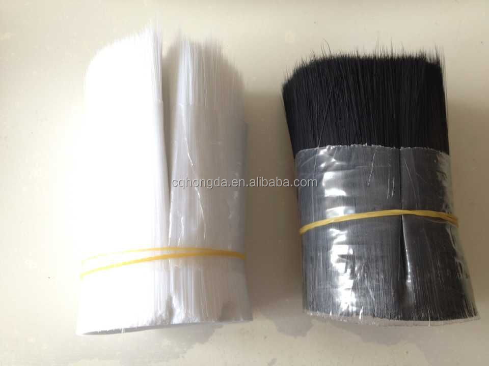 WHITE COLOR 0.18MM PET TAPERED FILAMENT FOR PAINT BRUSH