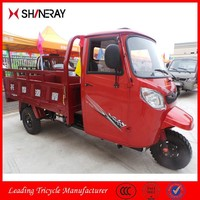 Shineray 250cc Closed Cabin Cargo Three Wheel Motorcycle Truck Chinese Tricycles Trucks