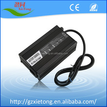 Guangzhou manufacuter 54.6V 36V E-tourist li-ion car battery charger