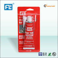 High temperature RTV red silicone silicone gasket maker