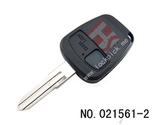 car 2 button remote key casing(side button)