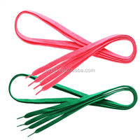 Flat Colorful Shoelace Cotton Shoelaces Custom