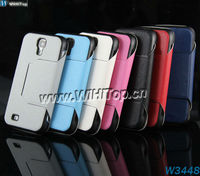 For Samsung Galaxy S4 i9500 Case Super Thin Leather Flip Cover Stand Design Skin 10pcs/lot Galaxy S4 Stand Leather Case.