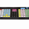 programmable 76 keys POS keyboard with USB water and dust proof with MSR