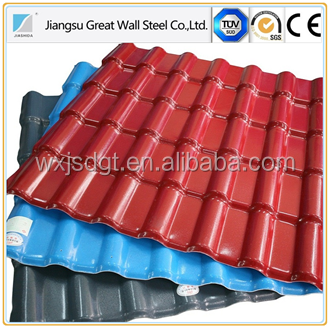 galvanized/aluzinc/galvalume steel sheets/coils/plates/strips, Galvanized (GI) Aluminum Pre Painted Corrugated Roofing Sheet