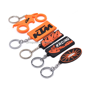 3D cartoons soft pvc keychain for promotional gifts