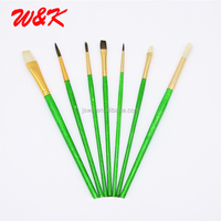 hot china products wholesale artist brush wooden handle