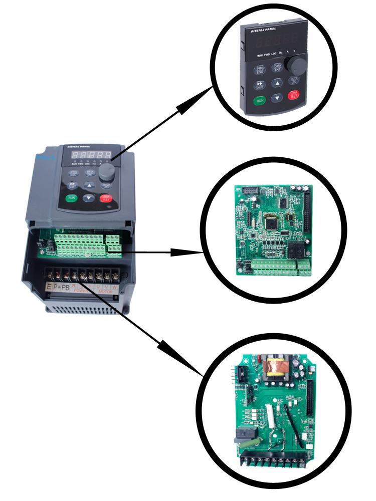 High Frequency Inverter 1 400hz 220v 380v Variable