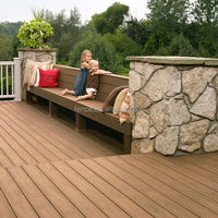 cheap pvc wood outdoor floor decking for sale