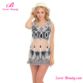 Factory Price White Woman Sexy Cover Up Ladies Beach Dress