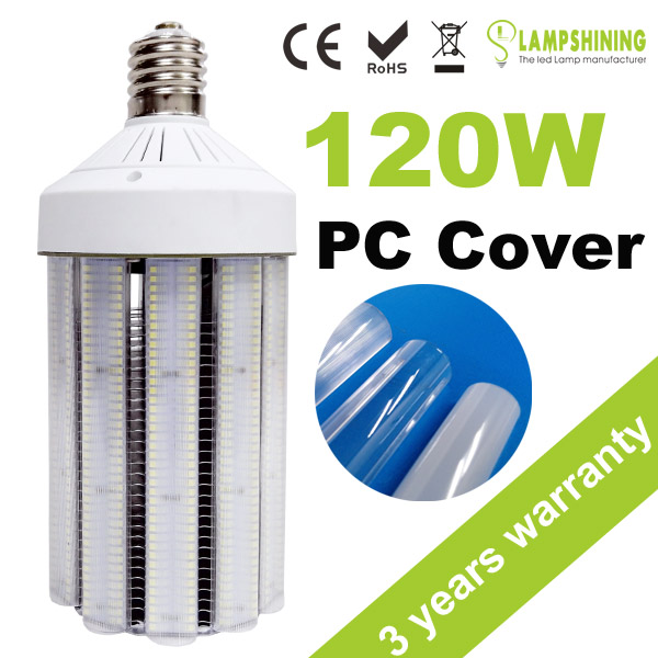 Halogent replacement 3000K e27 120W led yard light