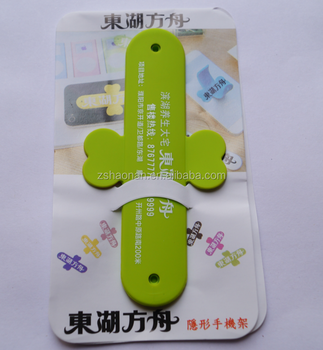 Cheap Sale Colorful Sticker Rubber Silicone Cellphone Holder