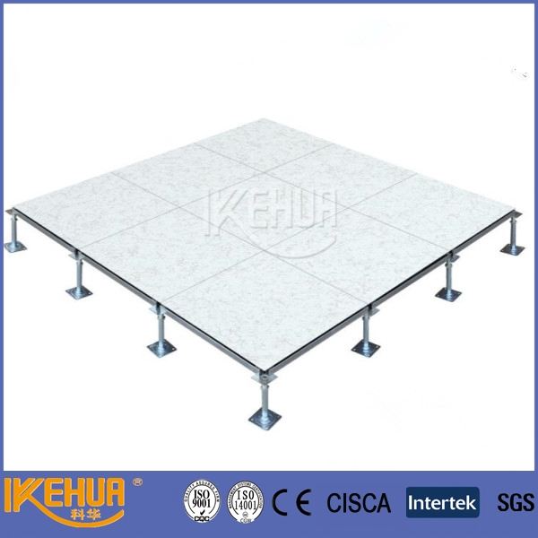 data center HPL adjustable pedestal steel antistatic steel raised flooring cleaning room antistatic 1.2mm