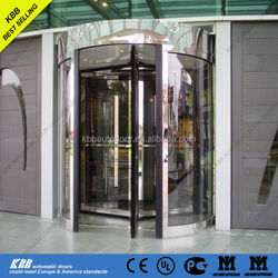 Denmark UCH, university, manual revolving door, ISO9001 UL CE certificate