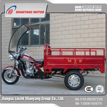 200CC Air-cooled Engine Operated Three Wheel MTR Cargo Motor Tricycle Sales To Iraq
