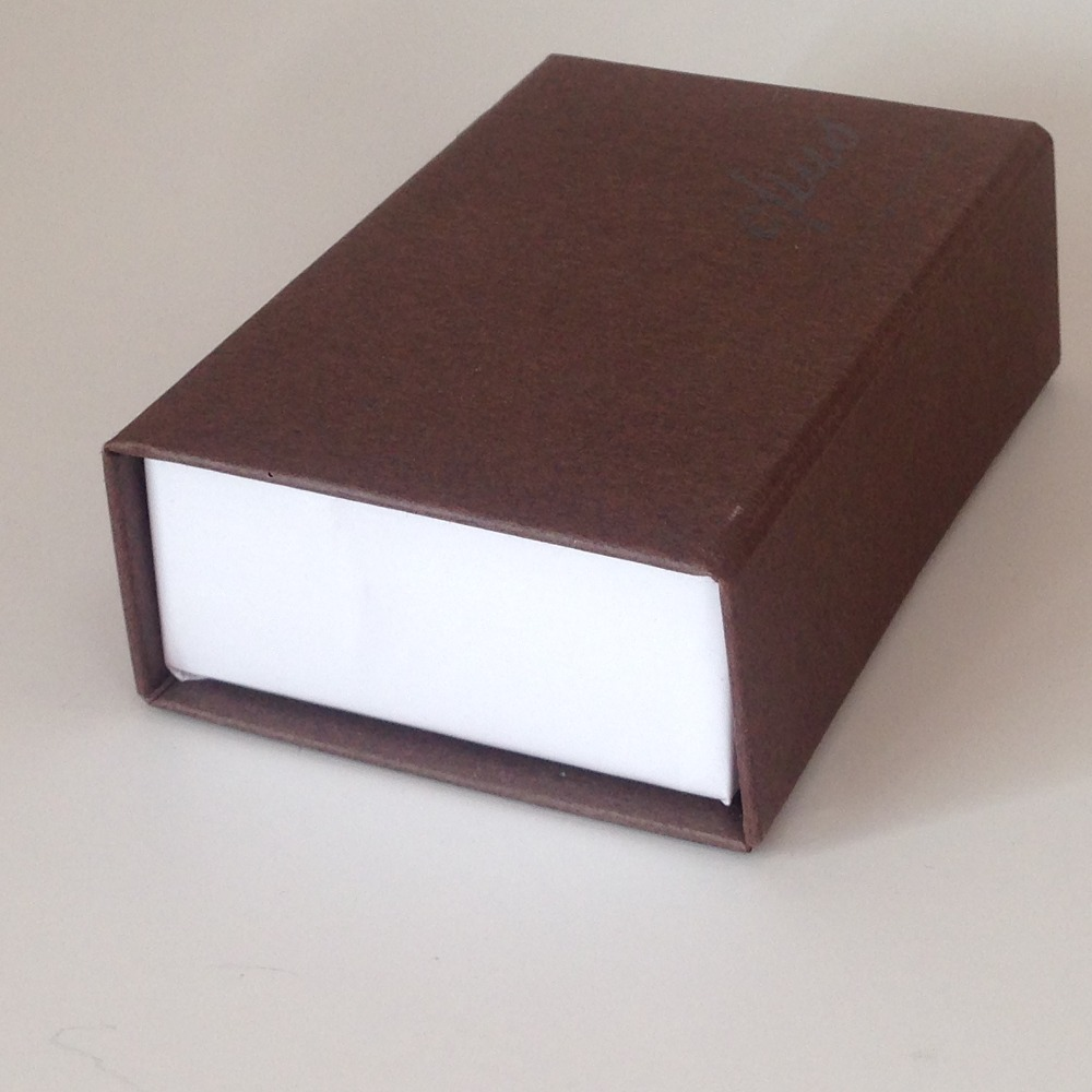 high end flap box cardboard chocolate box with plastic insert tray and cushion pad