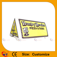 Water proof pizza style taxi sign for sale
