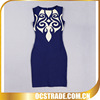 navy blue real sample evening dress