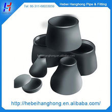 pipe fitting connector carbon steel large size concentric pipe reducer