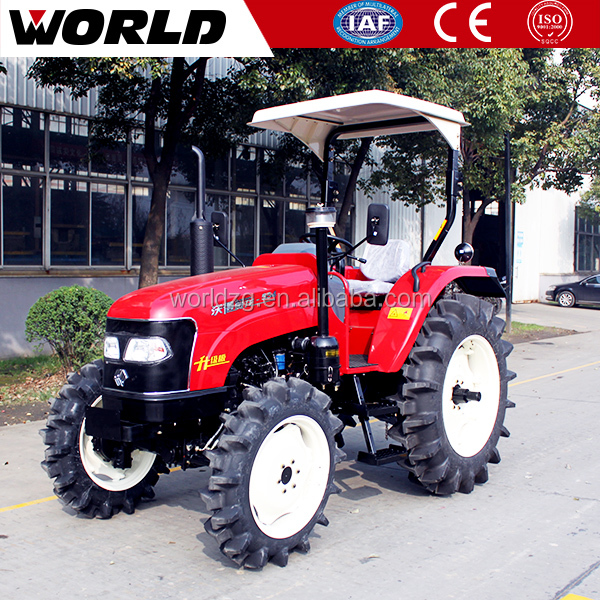 New design 55HP agricultural 4WD wheeled tractor for sale