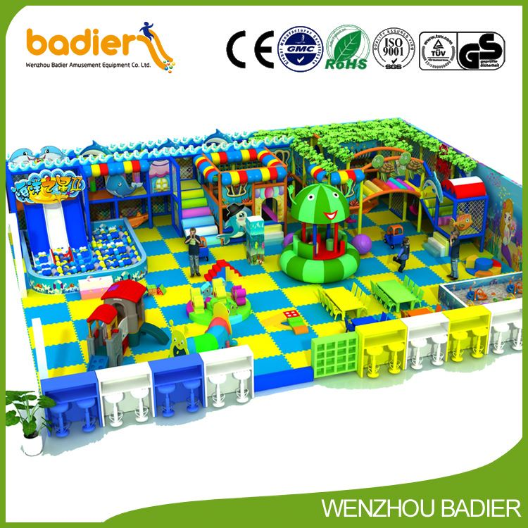 Latest product attractive style with fast delivery kids playground for shopping center