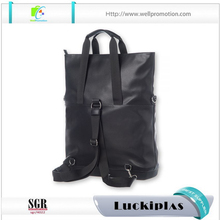 Luxury genuine leather shopping handbag laptop tote bag backpack leather bucket bag